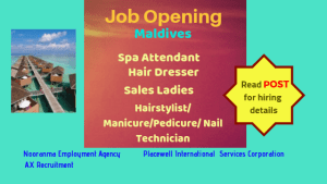 maldives-job-opening-hair-dresser-spa-attendant-nail-technician