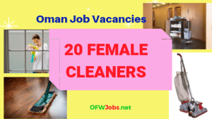 oman-job-vacancy-female-cleaner