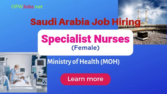 job-hiring-specialist-nurses-saudi-arabia