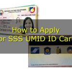 How to Apply for SSS UMID ID Card
