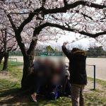 いつもの景色に桜を添えて