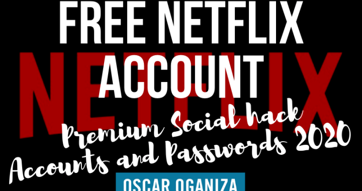 Free Netflix Premium Hack, Email and Password 2020