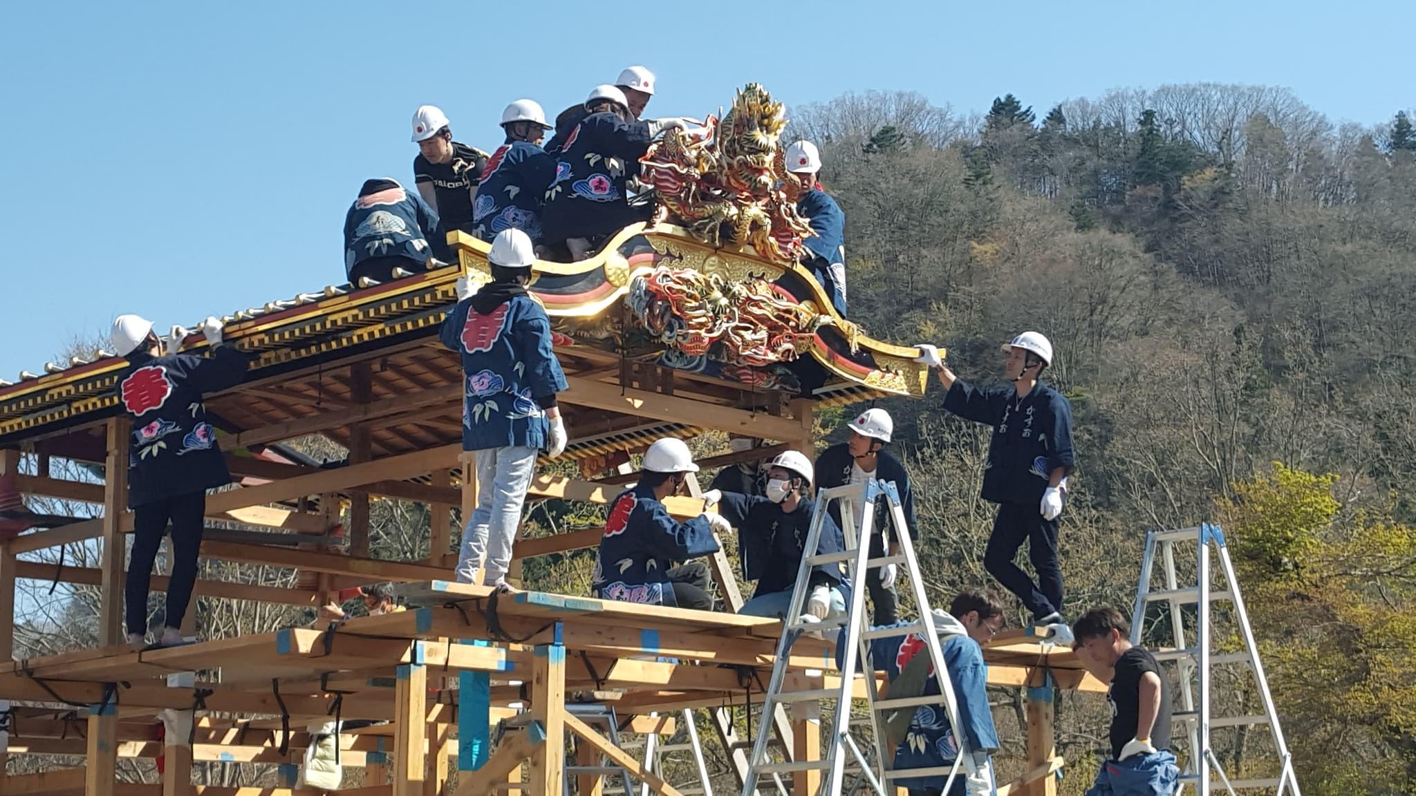 小鹿野春祭り 小鹿野歌舞伎