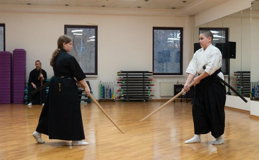 Rodzinne zajęcia iaijutsu
