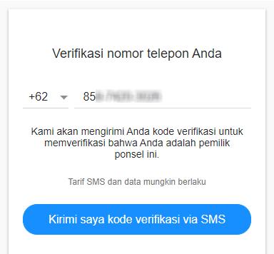 Verifikasi Kode Email Yahoo