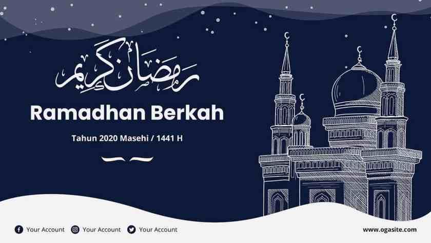 desain banner ramadhan