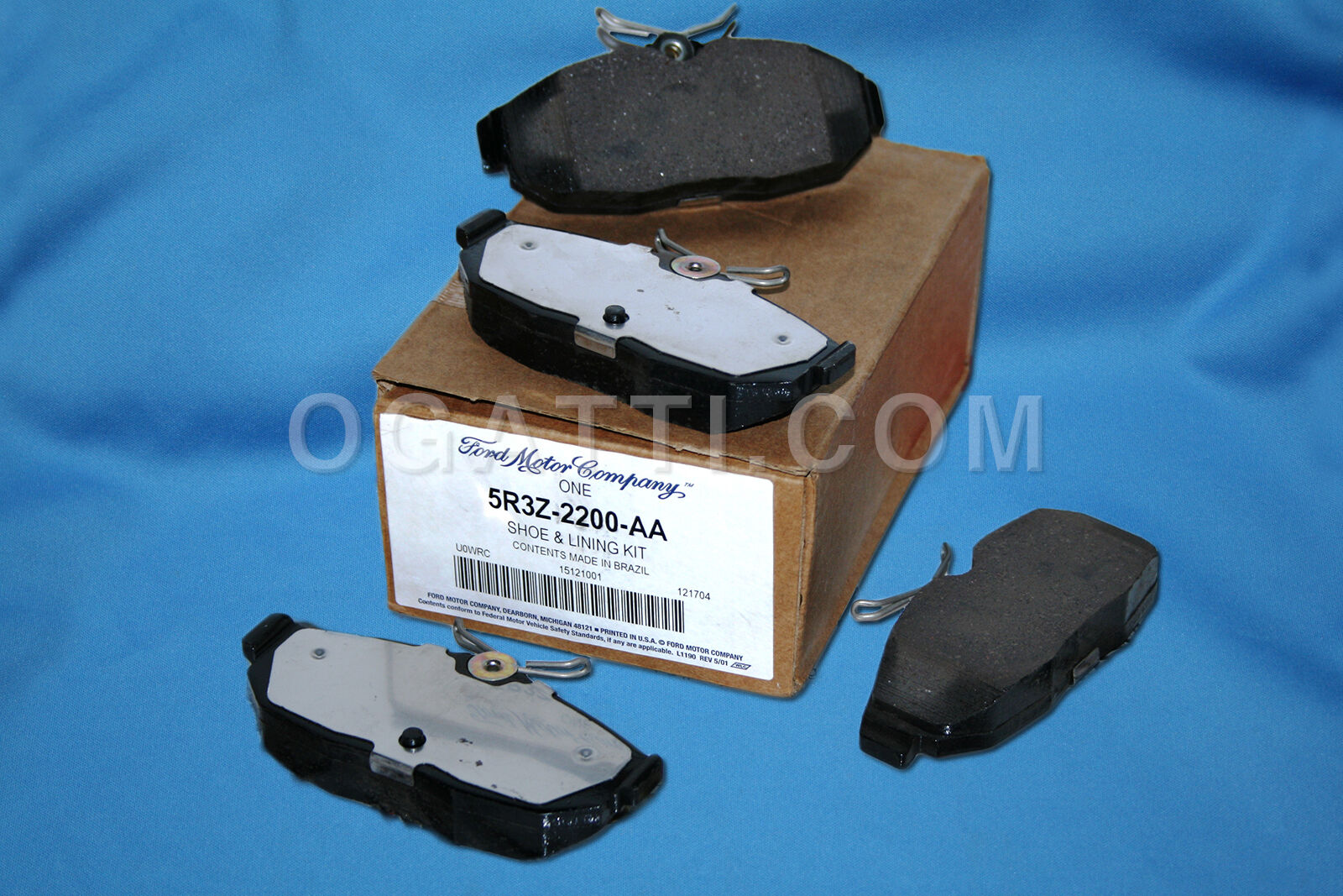 Brand New OEM SHOE AND LINING ASY 8R3Z-2200-A |2200|