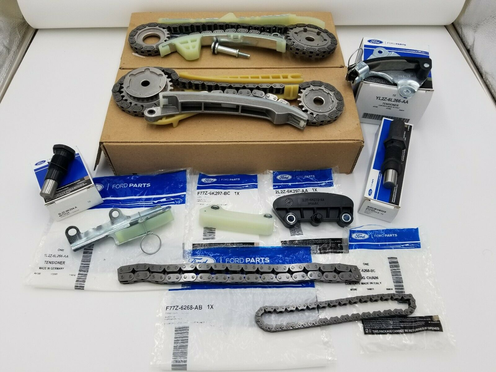 Brand New OEM Timing Chain 4.0L V6 12V SOHC EFI, 10 Pieces Engine Repair Kit (OG-60-4.0L-10-1)