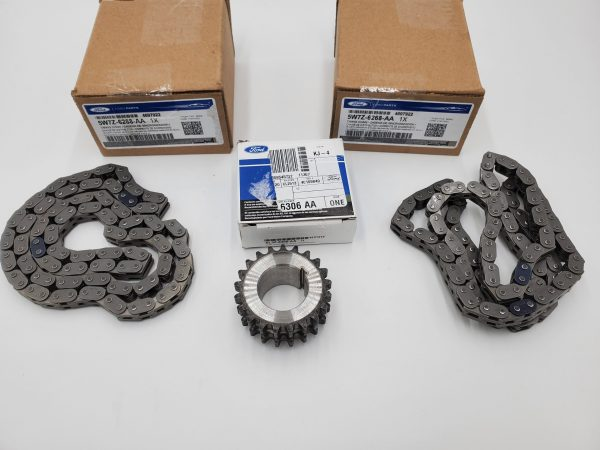 Brand New OEM Chain – Timing and Gear – Crankshaft 5.4 L V8, 3 Pieces Engine Repair Kit (OG-60-5.4L-3-2)