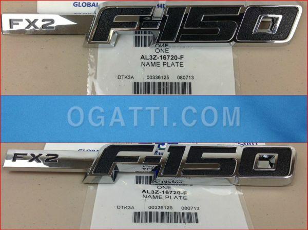 Brand New OEM NAME PLATE AL3Z-16720-F |16720|