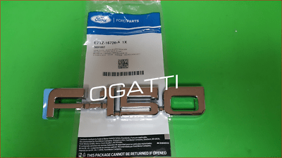 Brand New OEM NAME PLATE – SELF-ADHESIVE E7TZ-16720-A |16720|