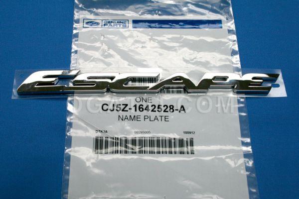 Brand New OEM NAME PLATE CJ5Z-1642528-A |1642528|