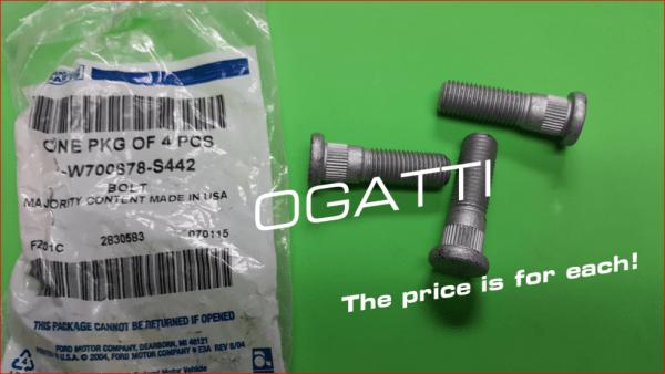 Brand New OEM BOLT – KNURLED W700678-S442 |W700678|