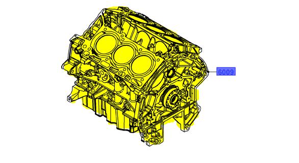 Brand New OEM CYLINDER BLOCK BA5Z-6009-E |6009|