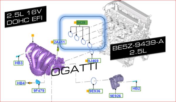 Brand New OEM GASKET – INTAKE MANIFOLD 8E5Z-9439-A |9439|
