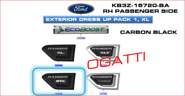 Brand New OEM DECAL – STRIPE KB3Z-16720-BA |16720|