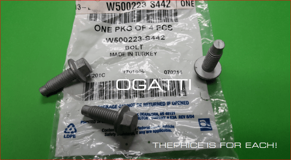Brand New OEM BOLT – HEX.HEAD W500223-S442 |W500223|