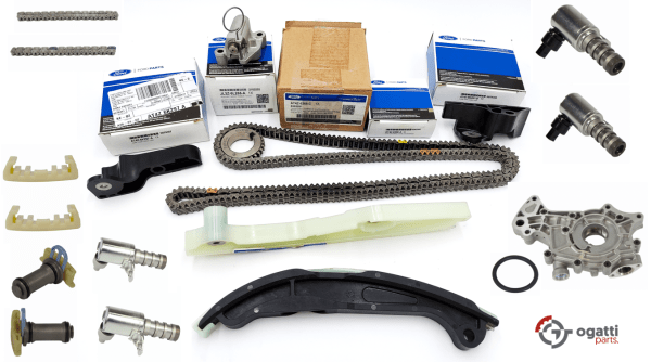 Brand New OEM Timing Chain Kit 3.5L DOHC VCT, 19 Pieces, Engine Repair Kit (OG-60-3.5L-19-3)