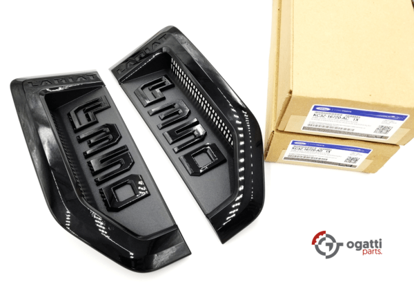 Brand New OEM NAME PLATE F-350 LARIAT Sport Package 2017 KIT RH-LH (OG-F350-2017-4)