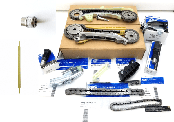 Brand New OEM Timing Chain 4.0L, 12 Pieces Engine Repair Kit (OG-60-4.0L-12-1)