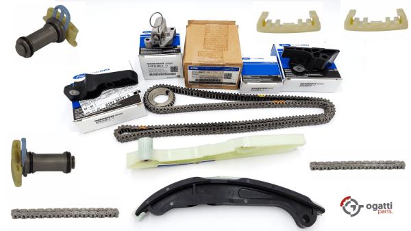 Brand New OEM Timing Chain Kit 3.5L DOHC VCT, 13 Pieces, Engine Repair Kit (OG-60-3.5L-13-1)
