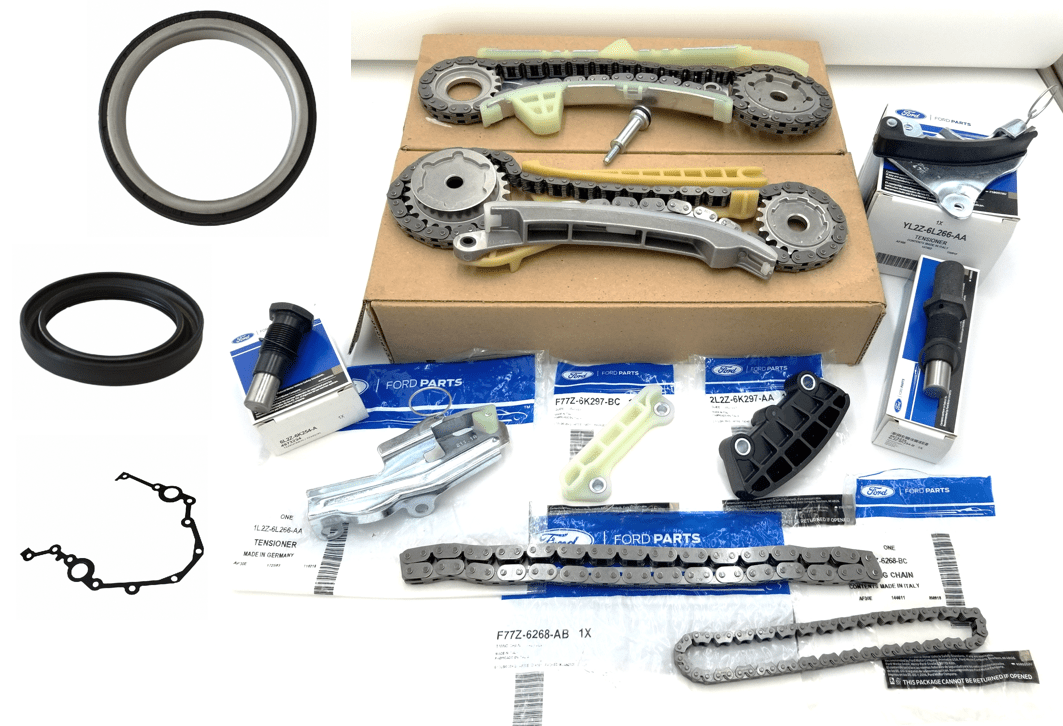 Brand New OEM Timing Chain 4.0L, 13 Pieces Engine Repair Kit (OG-60-4.0L-13-3)