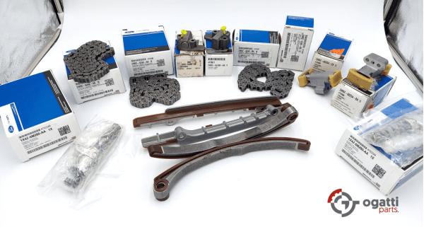 Brand New OEM Timing Chain Kit 3.9L 32V DOHC, 14 Pieces, Engine Repair Kit (OG-60-3.9L-14-1)