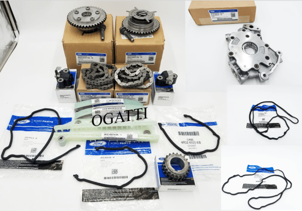 Brand New OEM Timing Chain 4.6L, 17 Pieces Engine Repair Kit (OG-60-4.6L-17-1)