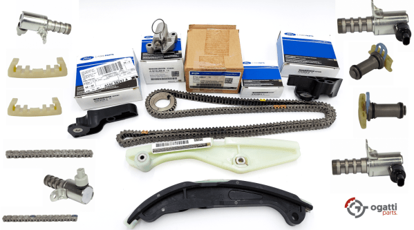 Brand New OEM Timing Chain Kit 3.5L DOHC VCT, 17 Pieces, Engine Repair Kit (OG-60-3.5L-17-1)
