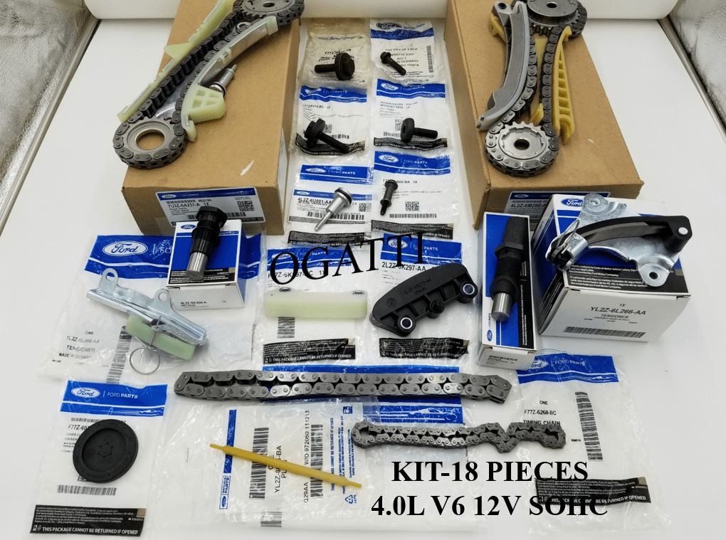 Brand New OEM Timing Chain 4.0L, 18 Pieces Engine Repair Kit (OG-60-4.0L-18-1)