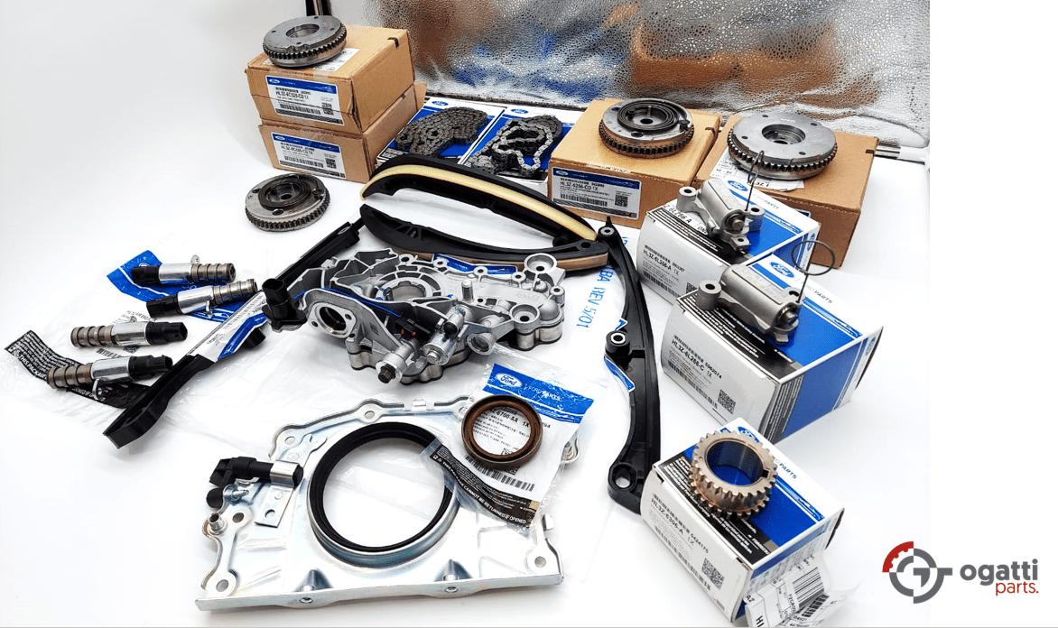 Brand New OEM Timing Chain Kit 3.5L DOHC TURBO, 20 Pieces, Engine Repair Kit (OG-60-3.5LT-20-1)