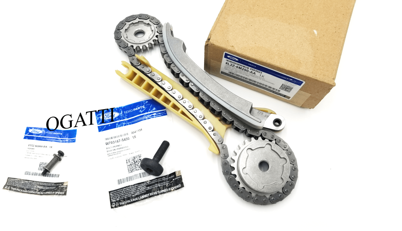 Brand New OEM Cassette Timing Chain Rear RH and Bolts 4.0L, 3 Pieces Engine Repair Kit (OG-60-4.0L-3-2)