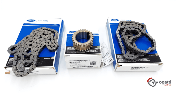 Brand New OEM Timing Chain Guides Kit 3.5L DOHC TURBO, 3 Pieces, Engine Repair Kit (OG-60-3.5LT-3-1)