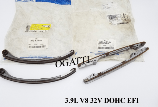 Brand New OEM Timing Chain Guides 3.9L 32V DOHC, 4 Pieces, Engine Repair Kit (OG-60-3.9L-4-2)