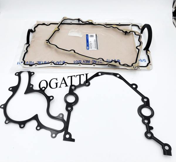 Brand New OEM Gaskets Oil Pan, Water Pump, Front Cover 4.0L, 4 Pieces Engine Gasket Repair Kit (OG-60-4.0L-4-3)