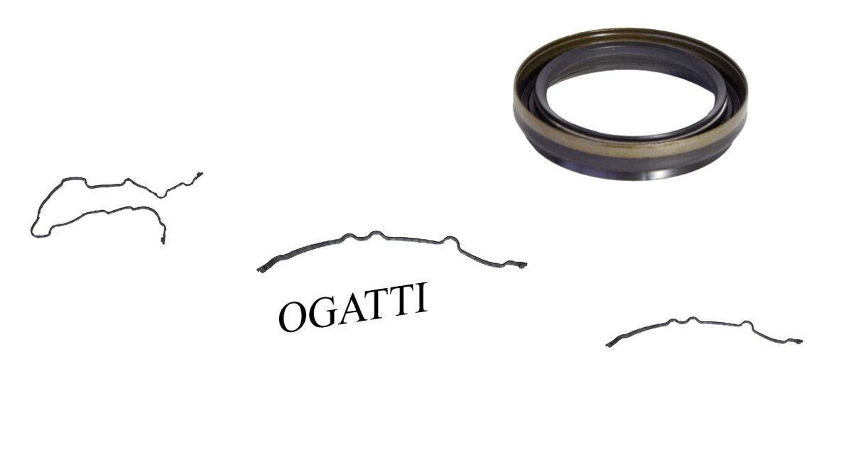 Brand New OEM Front Timing Cover Gasket and Seal | 6.2L V8 2V DOHC, 4 Pieces, Engine Repair Kit (OG-60-6.2L-4-2)