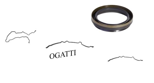 Brand New OEM Front Timing Cover Gasket and Seal   6.2L V8 2V DOHC, 4 Pieces, Engine Repair Kit (OG-60-6.2L-4-2)