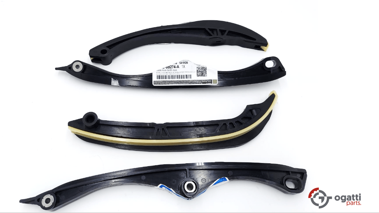 Brand New OEM Timing Chain Guides Kit 3.5L DOHC TURBO, 4 Pieces, Engine Repair Kit (OG-60-3.5LT-4-1)