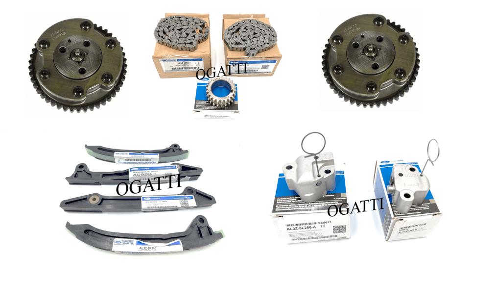 Brand New OEM Timing Chain Kit 6.2L V8 2V DOHC, 11 Pieces, Engine Repair Kit (OG-60-6.2L-11-1)