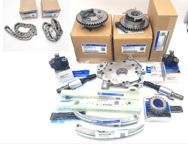 Brand New OEM Timing Chain 4.6L, 14 Pieces Engine Repair Kit (OG-60-4.6L-14-1)