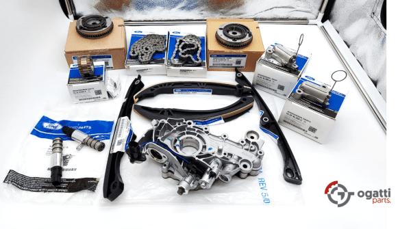 Brand New OEM Timing Chain Kit 3.5L DOHC TURBO, 14 Pieces, Engine Repair Kit (OG-60-3.5LT-14-1)