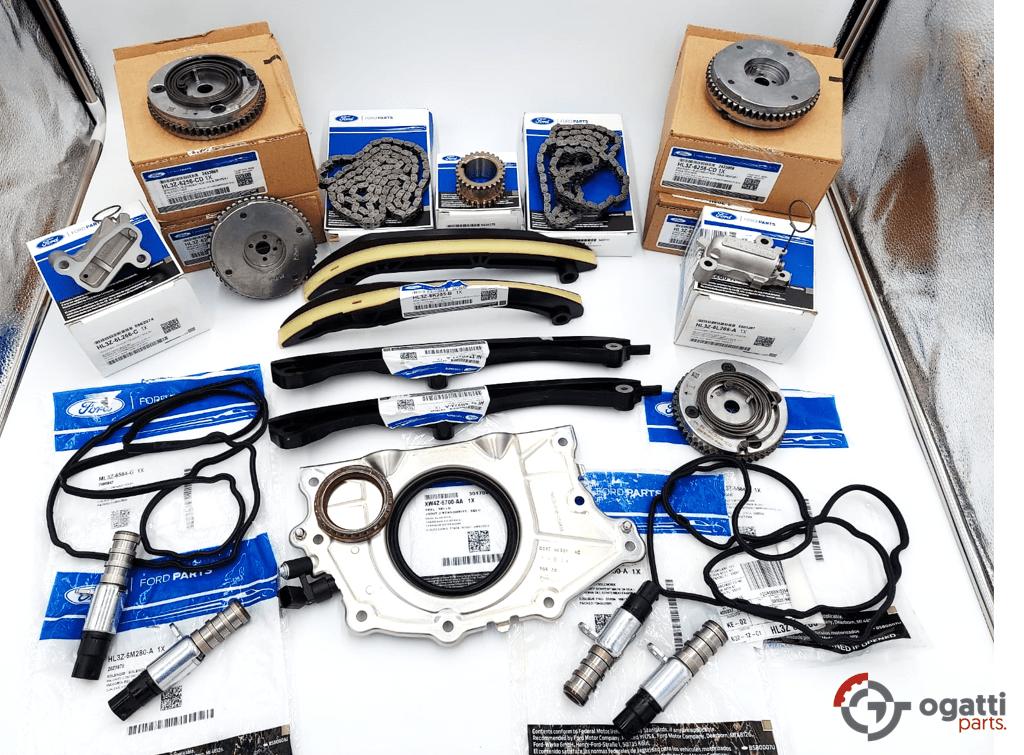 Brand New OEM Timing Chain Kit 3.5L DOHC TURBO, 21 Pieces, Engine Repair Kit (OG-60-3.5LT-21-1)