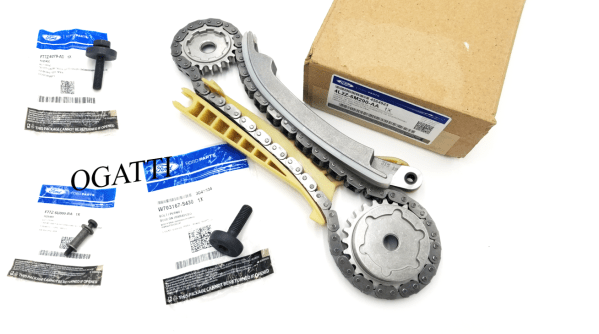 Brand New OEM Cassette Timing Chain Rear RH with Bolts 4.0L, 4 Pieces Engine Repair Kit (OG-60-4.0L-4-5)