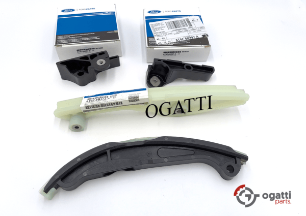 Brand New OEM Timing Chain Guides Kit 3.5L DOHC VCT, 4 Pieces, Engine Repair Kit (OG-60-3.5L-4-1)