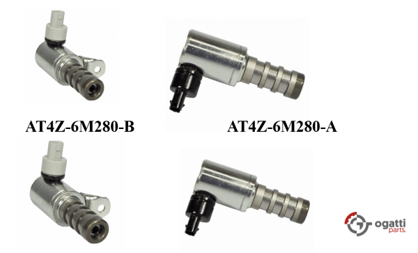 Brand New OEM Timing Chain Solenoid 3.5L DOHC VCT, 4 Pieces, Engine Repair Kit (OG-60-3.5L-4-2)