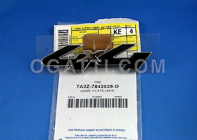 Brand New OEM NAME PLATE 7A2Z-7842528-D |7842528|