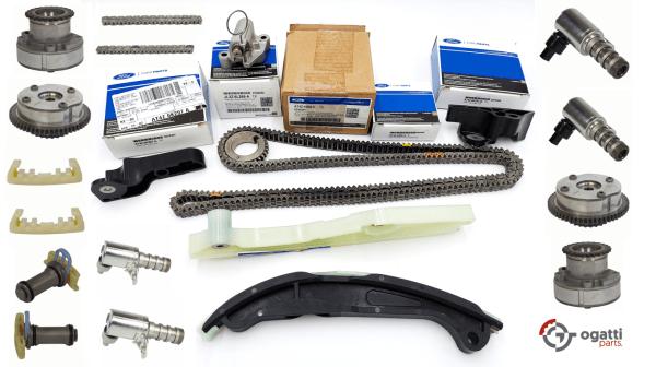 Brand New OEM Timing Chain Kit 3.5L DOHC VCT, 21 Pieces, Engine Repair Kit (OG-60-3.5L-21-1)