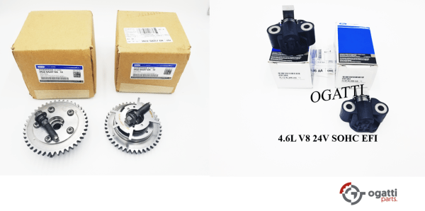 Brand New OEM Tensioner Timing Chain and Phaser – Camshaft 4.6L, 4 Pieces Engine Repair Kit (OG-60-4.6L-4-5)