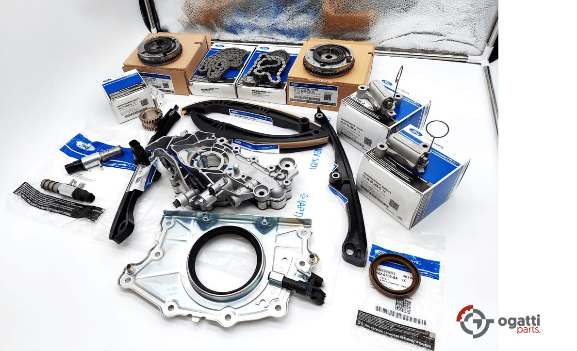 Brand New OEM Timing Chain Kit 3.5L DOHC TURBO, 16 Pieces, Engine Repair Kit (OG-60-3.5LT-16-1)