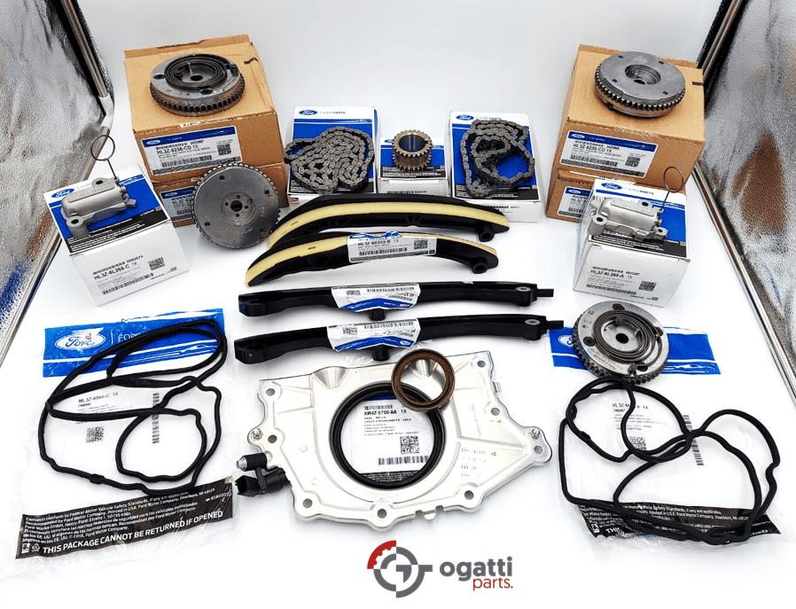 Brand New OEM Timing Chain Kit 3.5L DOHC TURBO, 17 Pieces, Engine Repair Kit (OG-60-3.5LT-17-1)